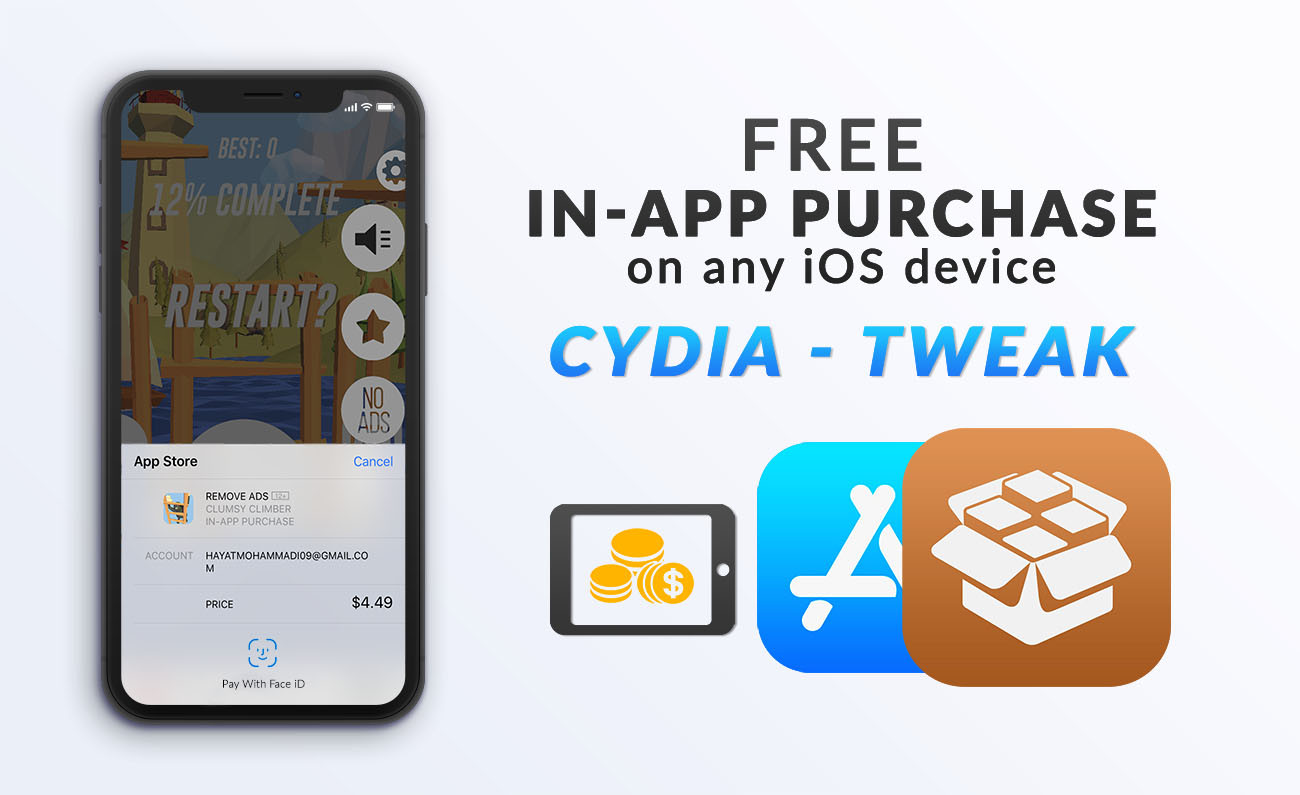 How to Get Free In-App Purchase - iOS 11 3 1 Jailbreak Tweak - wikigain