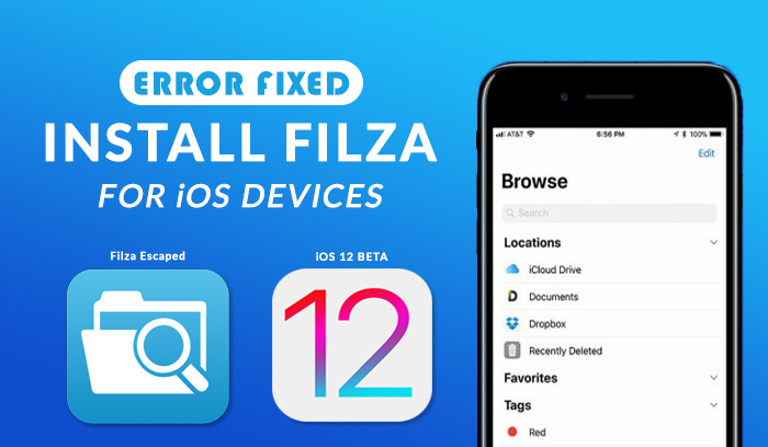 Install Filza Escaped on iOS Devices Without a Computer - wikigain