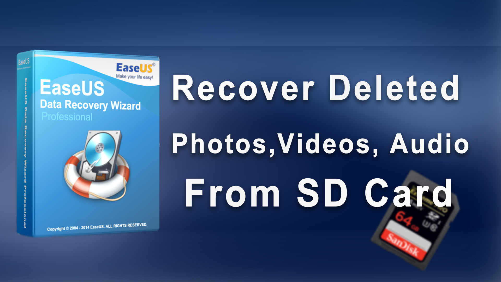 easeus sd card recovery