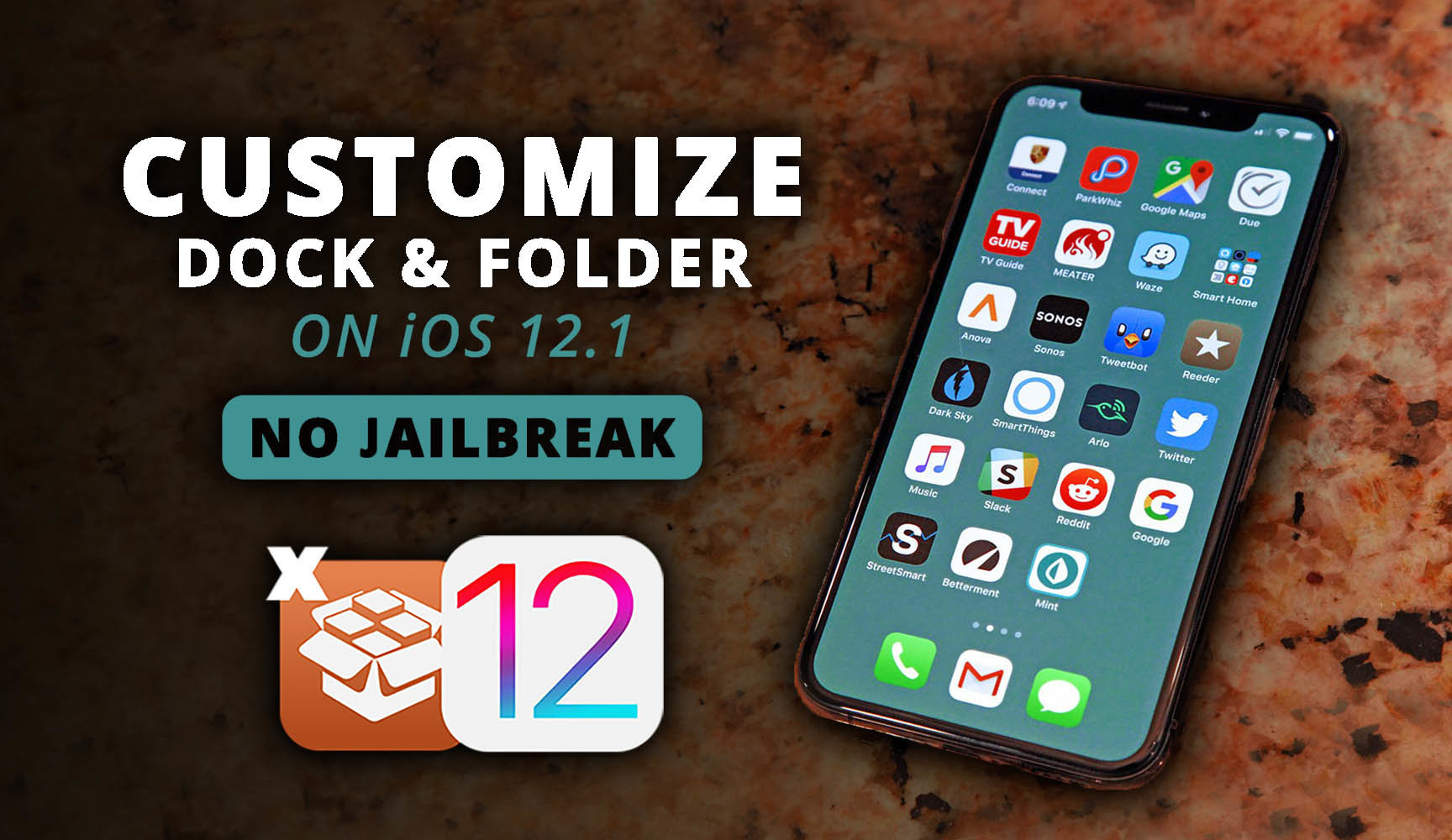 detailed look 4dee7 281e6 How to Customize The Dock & Folder on iOS 12.1 - wikigain