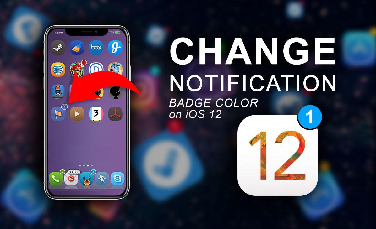 Change Notification Badge Color on iOS 12