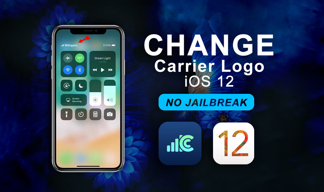 Change Carrier Logo on iOS 12