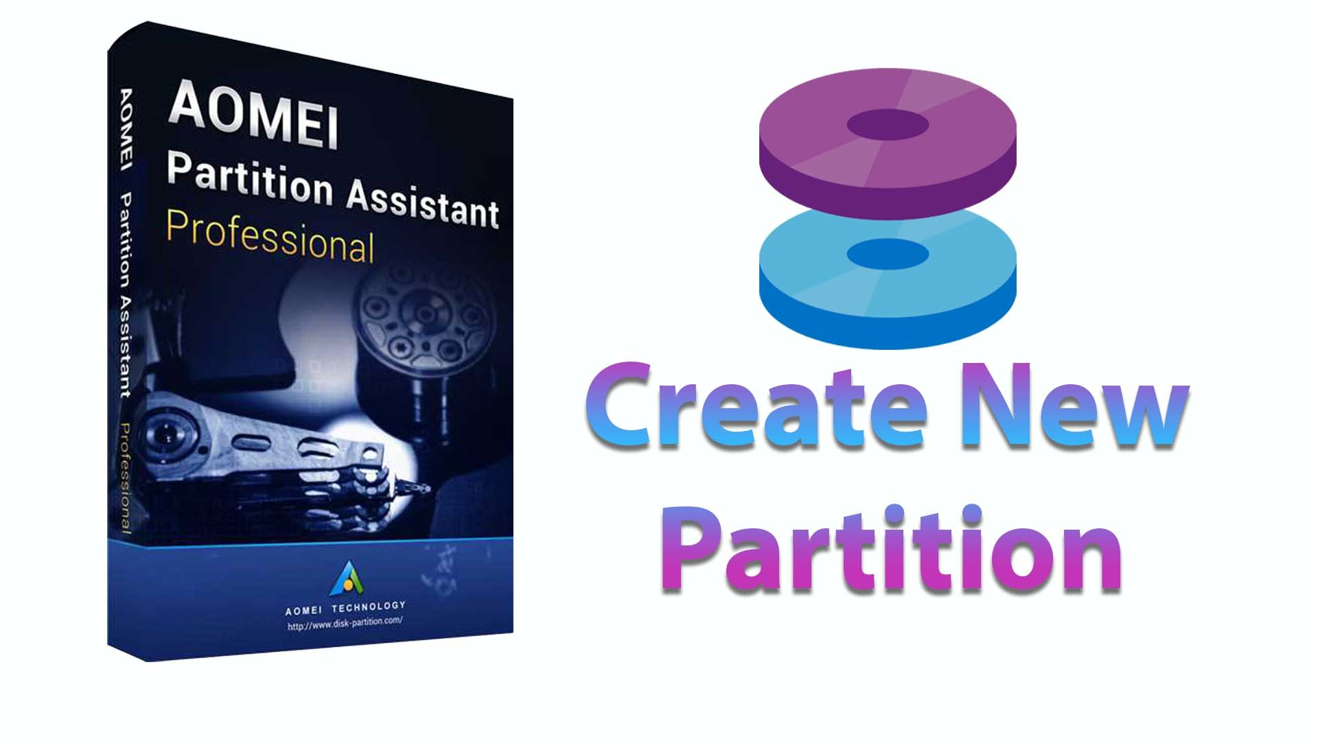 Create Partition in Windows 7 Without Formatting by AOMEI Partition Assistant