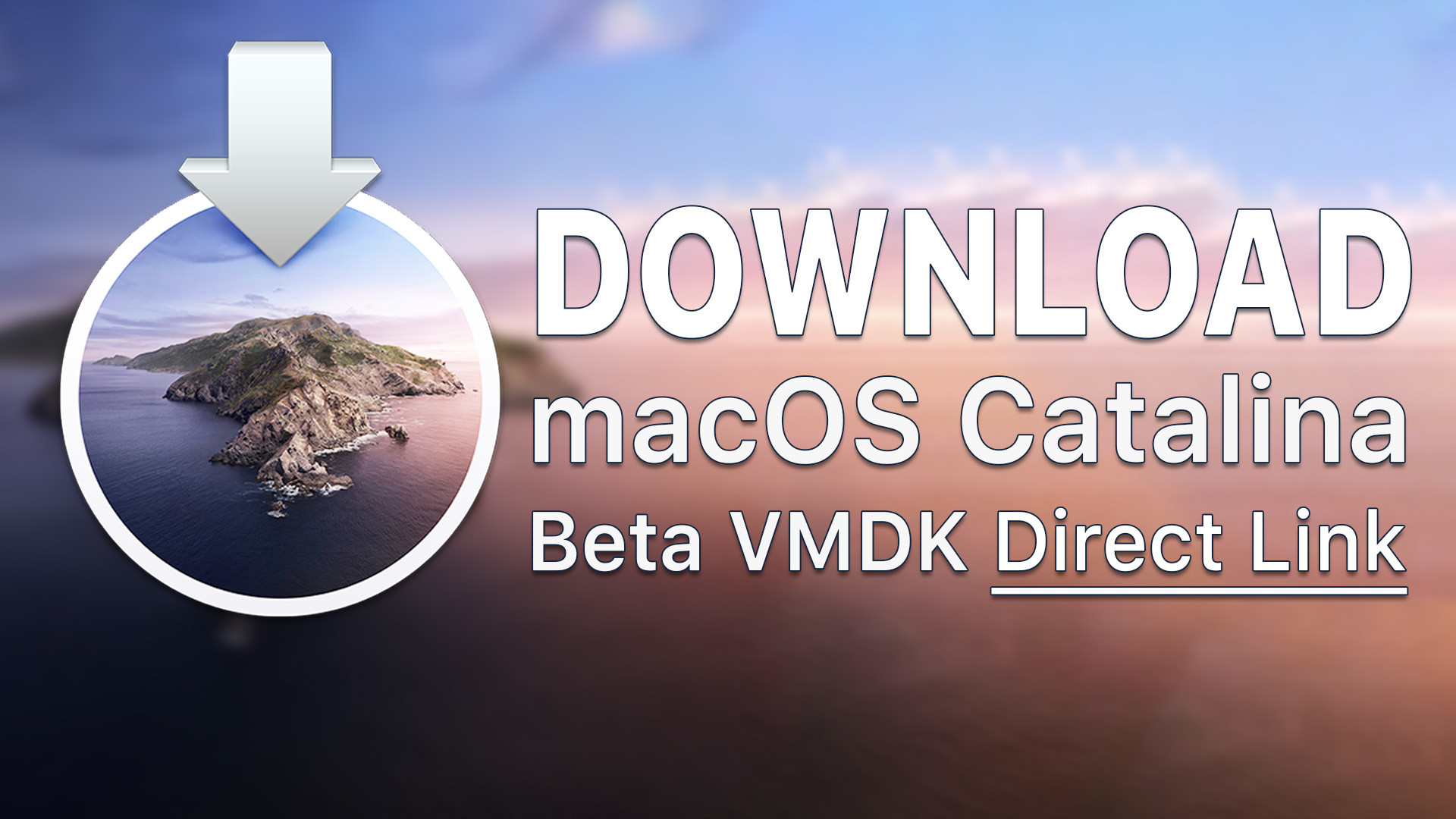 Download macOS Catalina Image for VMware & VirtualBox - wikigain