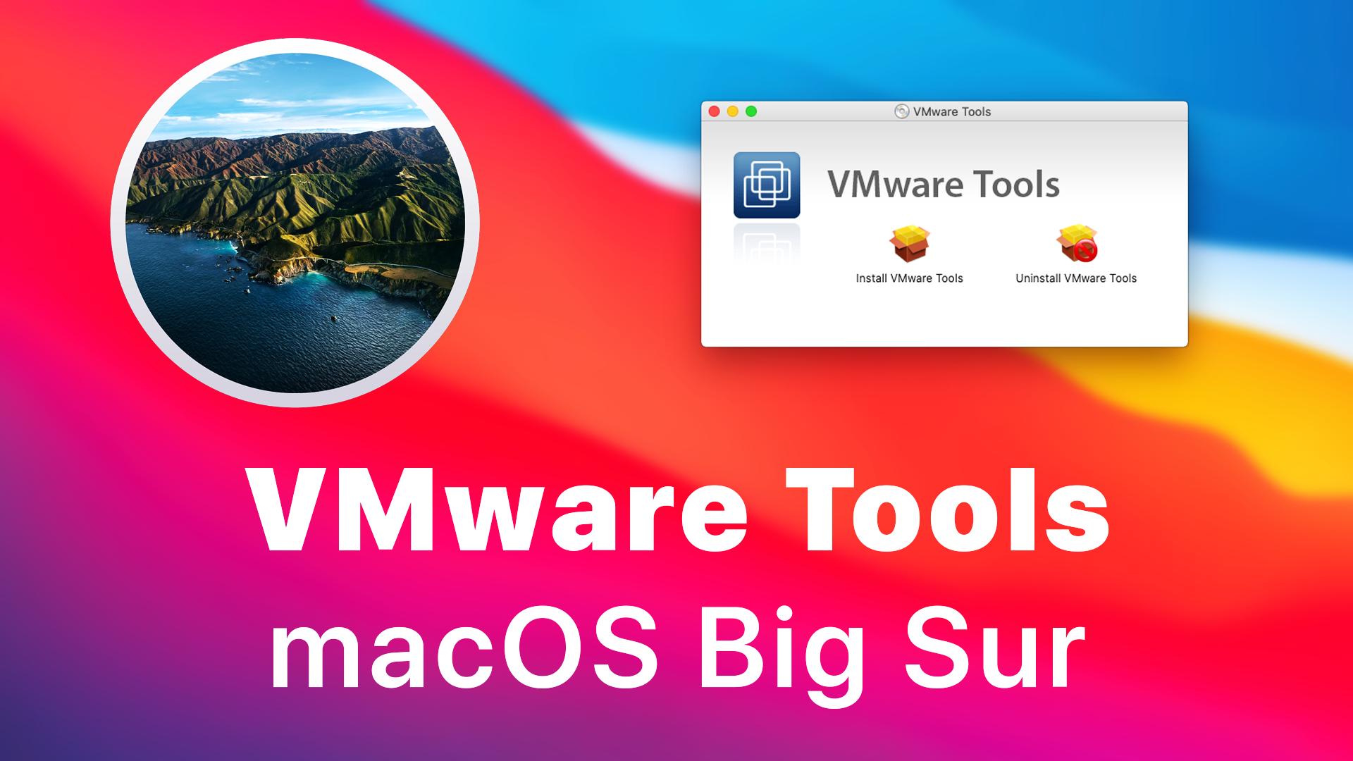 Vmware macos big sur m1